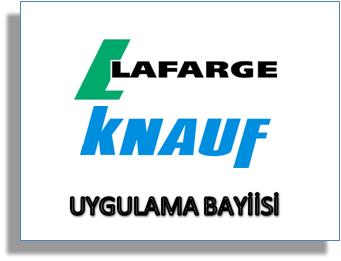 Lafarge Dalsan ve Knauf alçı ürünleri
